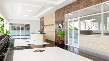 Sự phức tạp của thiết kế nội thất bệnh viện