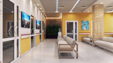 Thiết kế môi nội thất chăm sóc sức khỏe cho trẻ em