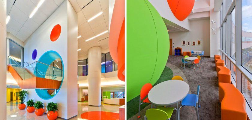 Thiết kế bệnh viện Nhi phong cách khu vui chơi
