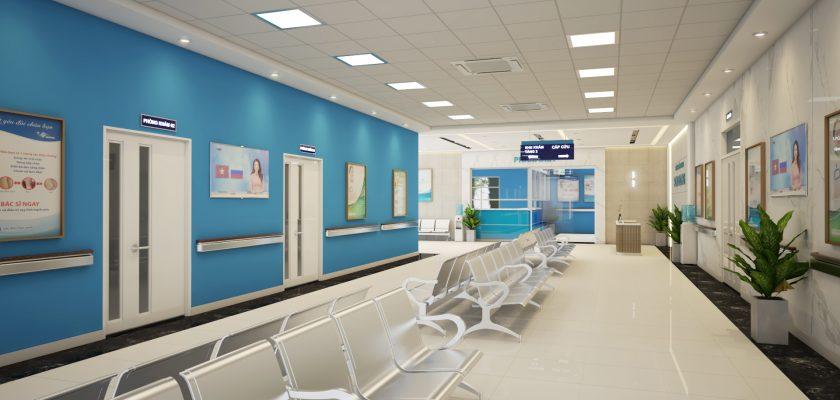 Kiến trúc nội thất tốt có thể giúp bệnh nhân mau bình phục