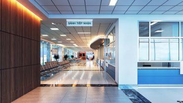 Tiêu chuẩn thiết kế nội thất bệnh viện