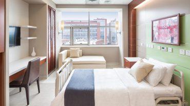 Thiết kế nội thất chăm sóc sức khỏe cho trẻ em