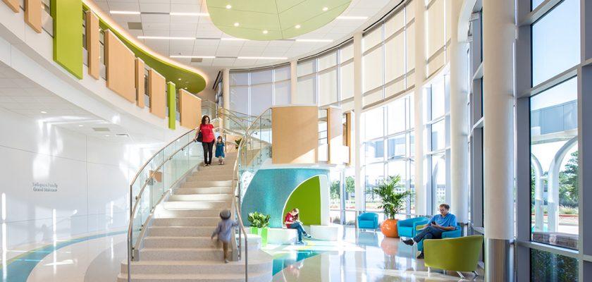 Thiết kế nội thất bệnh viện có thể giúp tăng cường sức khỏe cho bệnh nhân