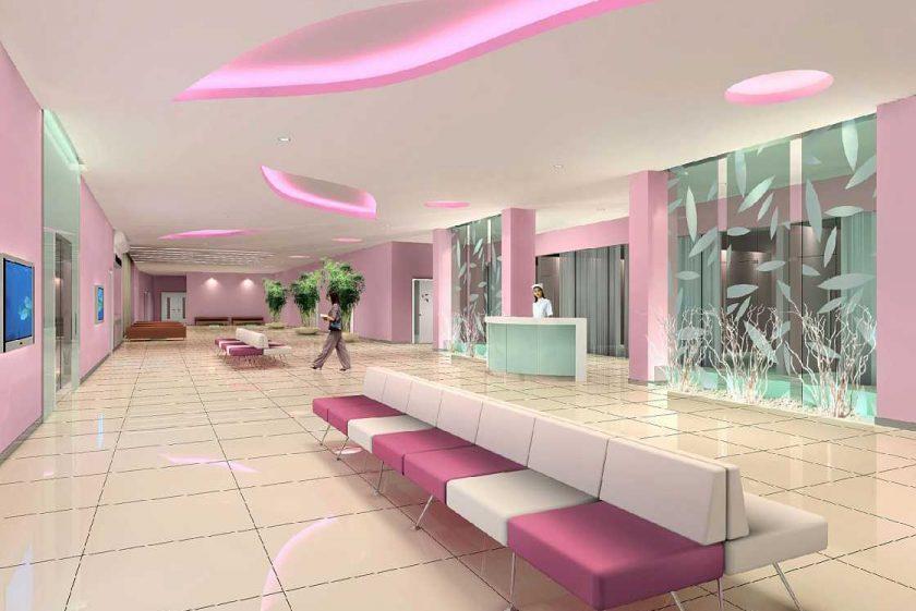 Yêu cầu thiết kế nội thất cho bệnh viện phụ sản là gì?