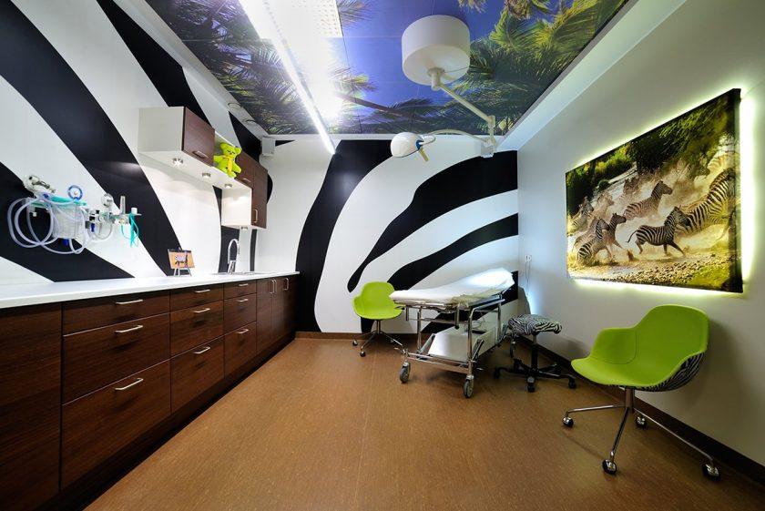 Thiết kế nội thất bệnh viện Nhi bằng cách truyền cảm hứng