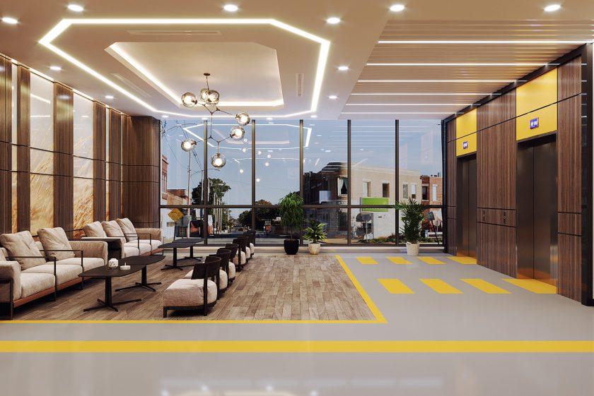 Nguyên tắc thiết kế nội thất bệnh viện