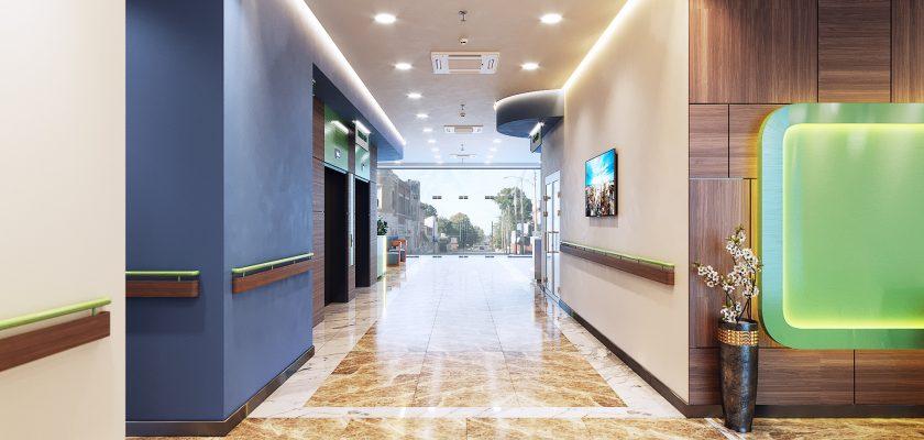 Sử dụng sáng tự nhiên trong thiết kế nội thất bệnh viện